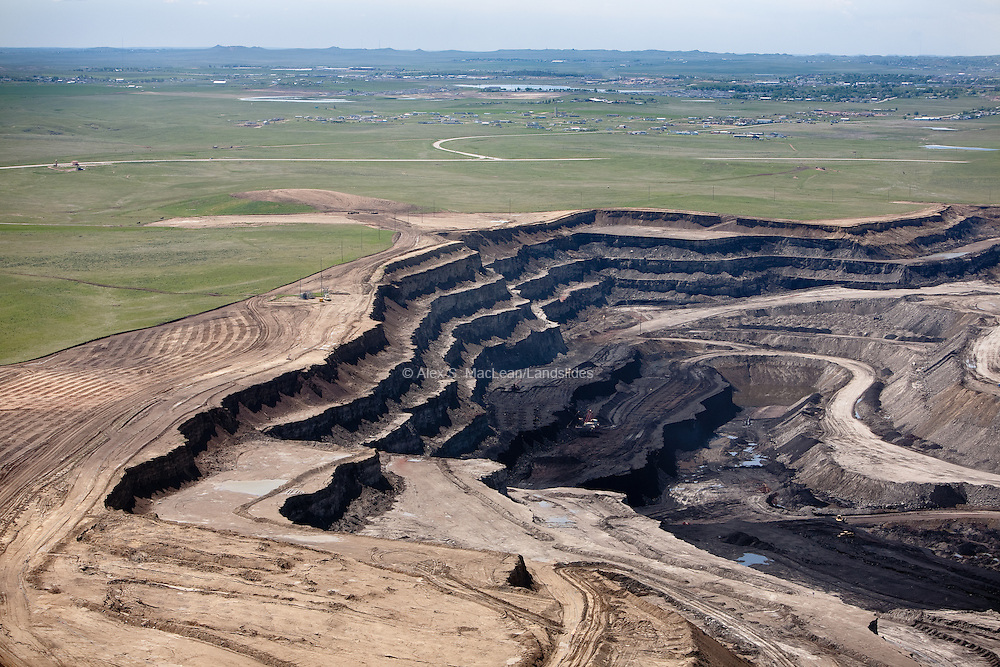 """The Powder River Basin coal beds are shaped like elongated bowls and as mines expand from east to west in the Powder River Basin, they will be going """"down the sides of the bowl."""""""