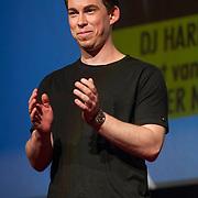 NLD/Amsterdam/20150414 - Onthulling van de Nederlandse stemmencast van de Minions, dj Hardwell