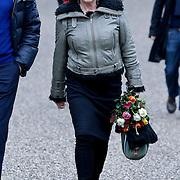 NLD/Amsterdam/20111221 - Uitvaart Olga Madsen, Henriette Tol