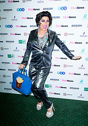 Pink News Awards 2019 <br /> At Church House, London, Great Britain <br /> 16th October 2019 <br /> <br /> Red carpet arrivals at the 2019 Pink News Awards ceremony <br /> Baga Chipz<br /> Drag artiste <br /> <br /> Photograph by Elliott Franks
