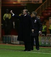 Photo: Andrew Unwin.<br /> Middlesbrough v Blackburn Rovers. Carling Cup. 21/12/2005.<br /> Middlesbrough's manager, Steve McLaren.