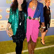 NLD/Amsterdam/20111010 - Premiere All Stars 2, Graziella Ferraro en Jasmine Sendar