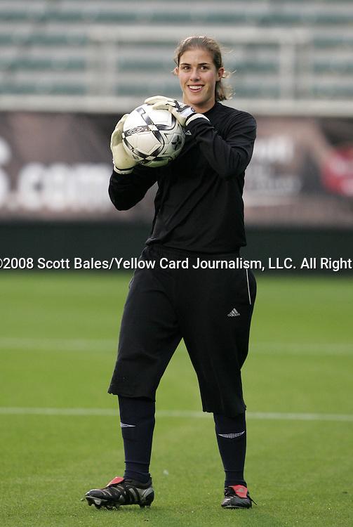 16 May 2008: Carolina's Molly Baird. The Atlanta Silverbacks Women defeated the Carolina Railhawks Women 5-0 at WakeMed Stadium in Cary, NC in a 2008 United Soccer League W-League regular season game.