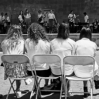 A British Invasion....<br /> A performance of the Fortismere School from London, at the Naumberg Bandshell in Central Park
