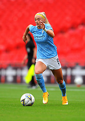 Chloe Kelly of Manchester City Women in action - Mandatory by-line: Nizaam Jones/JMP - 29/08/2020 - FOOTBALL - Wembley Stadium - London, England - Chelsea v Manchester City - FA Women's Community Shield