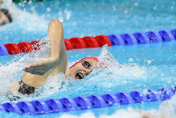 Caitlin McClatchey of Great Britain during the Women's 200m Freestyle final held at the Aquatics centre in Olympic Park in London as part of the London 2012 Olympics on the 31st July 2012.Photo by Ron Gaunt/SPORTZPICS