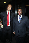 """l to r: Marvin Scott and Glynn Turman at """" The Obama That One: A Pre-Inagural Gala Celebrating the Victory of President-Elect Obama celebration held at The Newseum in Washington, DC on January 18, 2009  .."""