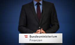 """07.03.2019, Finanzministerium, Wien, AUT, Bundesregierung, Pressekonferenz zum Thema """"Betrugsbekämpfung"""", im Bild Feature Finanzminister // during a media conference due to combating of fraud at finance ministry in Vienna, Austria on 2019/03/07, EXPA Pictures © 2019, PhotoCredit: EXPA/ Michael Gruber"""