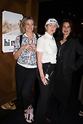 SOPHY RICKETT, RUT BLEES LUXEMBURG, BRENNA HORROX, The launch of HI-NOON a photography exhibition at Tramp, London. 29 October 2019