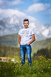 25.04.2018, Bad Häring, AUT, Mario Gamper im Portrait, im Bild der Österreichische Radfahrer Mario Gamper während eines Fototermins // the Austrian Cyclist Mario Gamper during a Photoshooting in Bad Häring, Austria on 2018/04/25. EXPA Pictures © 2018, PhotoCredit: EXPA/ JFK