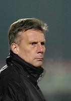Photo: Leigh Quinnell.<br /> Cheltenham Town v Colchester United. LDV Vans Trophy.<br /> 24/01/2006. Cheltenham Town manager John Ward