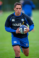 Jackson Willison of Bath Rugby before the Rugby Friendly match between Edinburgh Rugby and Bath Rugby at Meggetland Sports Complex, Edinburgh, Scotland on 17 August 2018.