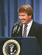 Larry Speakes White House ass't press secretary in August 1982<br />Photo by Dennis Brack. bb77