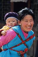 On tibetan refugees village at Darjeeling