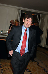 J P MCMANUS at The Sir Peter O'Sullevan Charitable Trust Lunch at The Savoy, London on 23rd November 2005.<br /><br />NON EXCLUSIVE - WORLD RIGHTS