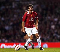 Ruud Van Nistelrooy<br />Manchester United 2004/05<br />Manchester United v PSV Eindhoven (1-0)<br />The Vodafone Cup 03/08/04<br />Photo Robin Parker Fotosports International