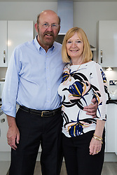 John and Hilary Bond who met in Majorca at Club 18-30 in May 1973 where John was a Rep and Hilary a guest. This year the couple have just celebrated their 44th wedding anniversary. Watford, Herts, May 29 2018.