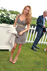 NATALIE JOEL at the Cartier Queen's Cup Polo Final, Guards Polo Club, Windsor Great Park, Berkshire, on 17th June 2012.