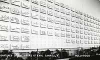 1947 Earl Carroll Nightclub's Signature Wall