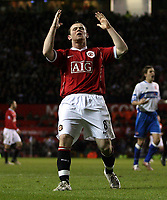 Photo: Paul Thomas.<br /> Manchester United v Middlesbrough. The FA Cup, Quarter Final replay. 19/03/2007.