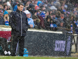 Rangers manager Graeme Murty during the William Hill Scottish Cup, fifth round match at Somerset Park, Ayr.