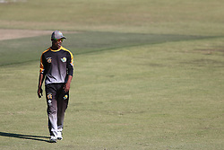 Ferisco Adams of Boland during the Africa T20 cup pool D match between Boland and Gauteng held at the Boland Park cricket ground in Paarl on the 25th September 2016.<br /> <br /> Photo by: Shaun Roy/ RealTime Images