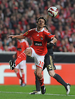 20100401: LISBON, PORTUGAL - SL Benfica vs Liverpool: Europa League 2009/2010 - Quarter-Finals - 1st leg. In picture: Pablo Aimar (Benfica). PHOTO: Alvaro Isidoro/CITYFILES
