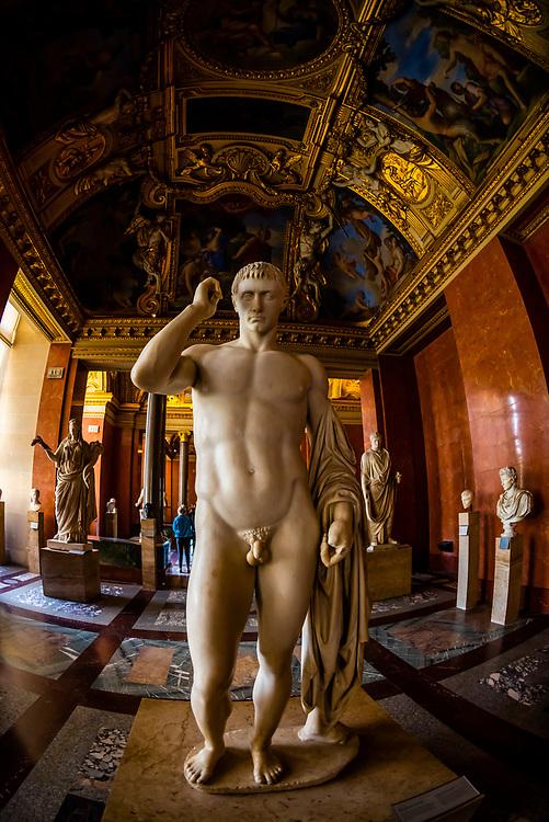 Greek and Roman antiquities, Louvre Museum, Paris, France.