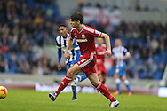 Middlesbrough FC defender George Friend during the Sky Bet Championship match between Brighton and Hove Albion and Middlesbrough at the American Express Community Stadium, Brighton and Hove, England on 19 December 2015.