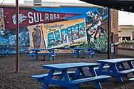 Mural in downtown Apline, Texas.