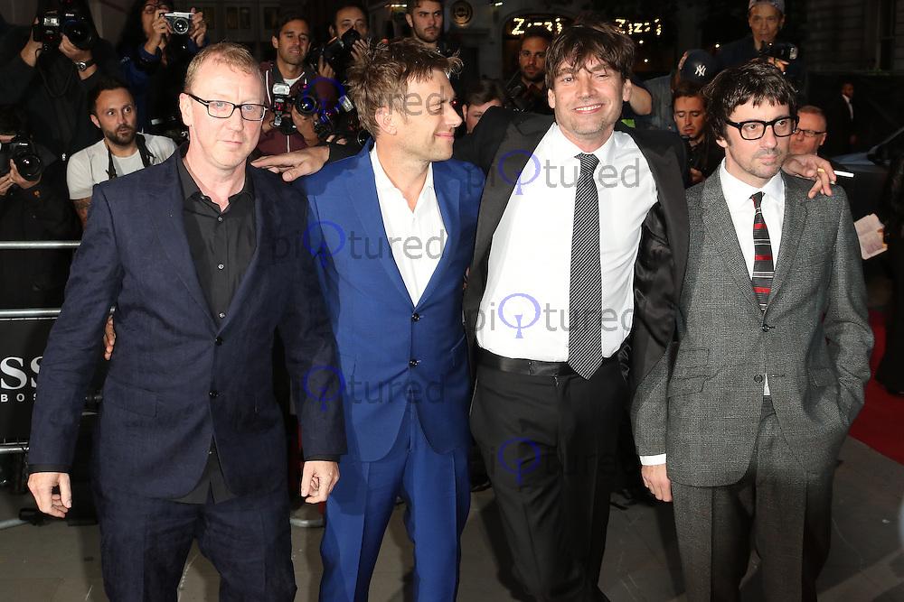 Alex James, Blur, GQ Men of the Year Awards 2015, Royal Opera House Covent Garden, London UK, 08 September 2015, Photo by Richard Goldschmidt
