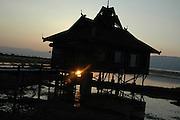 Myanmar Shan state Inle lake Inle resort hotel, Exterior
