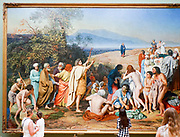 The Apparition of Christ to the People (The Apparition of the Messiah) Alexander Andreyevich Ivanov (1837-1857) Painting on display at the State Tretyakov Gallery (GTG) an art gallery in Moscow, Russia, the foremost depository of Russian fine art in the world.