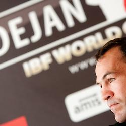 20110511: SLO, Boxing - Press conference of Dejan Zavec alias Jan Zaveck