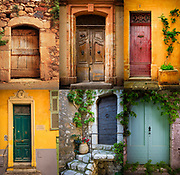 Six doors found in southern France
