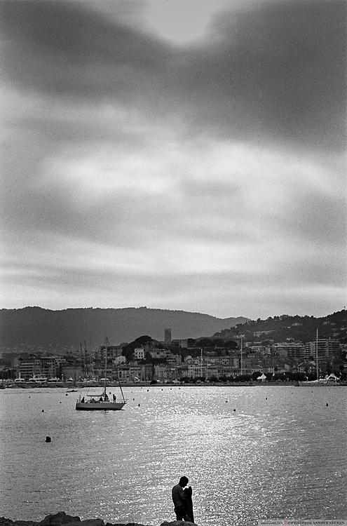 Cannes, France, june 1995, Scenes at the Cannes filmfestival. PHOTO © Christophe Vander Eecken