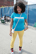 """June 2, 2012- Philadelphia, PA, United States: Recording Artist Marsha Ambrosius attends the 5th Annual ROOTS Picnic held at Festival Pier at Penn's Landing in Philadelphia, PA . The Roots is an American hip hop/neo soul band formed in 1987 by Tariq """"Black Thought"""" Trotter and Ahmir """"Questlove"""" Thompson in Philadelphia, Pennsylvania. They are known for a jazzy, eclectic approach to hip hop which includes live instrumentals. (Photo by Terrence Jennings)"""