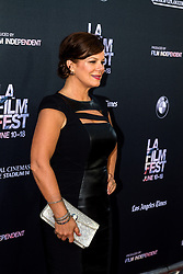 LOS ANGELES, CA - JUNE 10: Marcia Gay Harden attends the opening night premiere of 'Grandma' during the 2015 Los Angeles Film Festival at Regal Cinemas L.A. Live on June 10, 2015. Byline, credit, TV usage, web usage or linkback must read SILVEXPHOTO.COM. Failure to byline correctly will incur double the agreed fee. Tel: +1 714 504 6870.