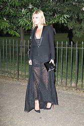 © London News Pictures. 26/06/2013. London, UK. Kate Moss at  The Serpentine Gallery summer party, Kensington Gardens London UK, 26 June 2013, Photo credit: Richard Goldschmidt/LNP