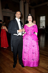 ANNA MOSES and PROF.KARL LUTCHMAYER at the 13th annual Russian Summer Ball held at the Banqueting House, Whitehall, London on 14th June 2008.<br /><br />NON EXCLUSIVE - WORLD RIGHTS