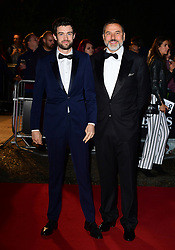 Jack Whitehall and David Walliams attending the GQ Men of the Year Awards 2017 held at the Tate Modern, London.