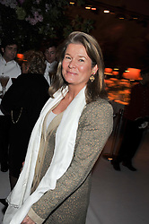 CHARLENE de CARVALHO at a dinner hosted by Cartier following the following the opening of the Chelsea Flower Show 2012 held at Battersea Power Station, London on 21st May 2012.