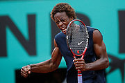 Wednesday June 4th 2008. Roland Garros. Paris, France. .Gael MONFILS against David FERRER..1/4 Finals...