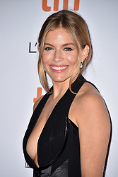 Sienna Miller attends the American Women screening held at the Princess of Wales Theatre during the Toronto International Film Festival in Toronto, Canada on September 9th, 2018. Photo by Lionel Hahn/ABACAPRESS.com