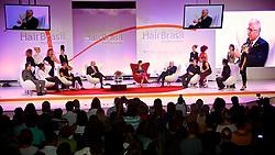 """Talkshow """"Ícones & Líderes"""" durante a Hair Brasil 2013 - 12 ª Feira Internacional de Beleza, Cabelos e Estética, que acontece de 06 a 09 de abril no Expocenter Norte, em São Paulo. FOTO: Jefferson Bernardes/Preview.com"""