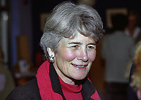 Jane Sullivan, wife of Mike Sullivan, aka Michael John Sullivan, US Ambassador to Rep of Ireland, 199908060.<br /> <br /> Copyright Image from Victor Patterson, Belfast, UK<br /> <br /> t: +44 28 9066 1296 (from Rep of Ireland 048 9066 1296)<br /> m: +44 7802 353836<br /> e: victorpattersonbelfast@gmail.com<br /> <br /> www.images4media.com<br /> <br /> Please see my full Terms and Conditions of Use at https://www.images4media.com/p/terms-conditions - it is IMPORTANT that you familiarise yourself with them.<br /> <br /> Images used online incur an additional cost. This cost should be agreed in writing in advance. Online images must be visibly watermarked i.e. © Victor Patterson or that of the named photographer within the body of the image. The original metadata must not be deleted from images used online.<br /> <br /> This image is only available for the use of the download recipient i.e. television station, newspaper, magazine, book publisher, etc, and must not be passed on to a third party. It is also downloaded on condition that each and every usage is notified within 7 days to victorpattersonbelfast@gmail.com.<br /> <br /> The right of Victor Patterson (or the named photographer) to be identified as the author is asserted in accordance with The Copyright Designs And Patents Act (1988). All moral rights are asserted.