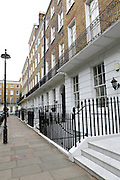 Dorset Square, NW1, between Marylebone and Baker Street stations in London