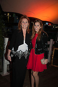THE DUCHESS OF YORK; PRINCESS BEATRICE, Gabrielle's Gala 2013 in aid of  Gabrielle's Angels Foundation UK , Battersea Power station. London. 2 May 2013.