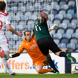 Raith Rovers v Falkirk, Scottish Championship 27/9/2014