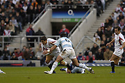 Twickenham. GREAT BRITAIN, Antony ALLEN, caught in midfieldduring the, 2006 Investec Challenge, game between, England  and Argentina, on Sat., 11/11/2006, played at the Twickenham Stadium, England. Photo, Peter Spurrier/Intersport-images].....